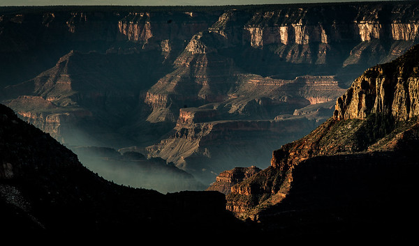 Sunrise at the North Rim of the Grand Canyon