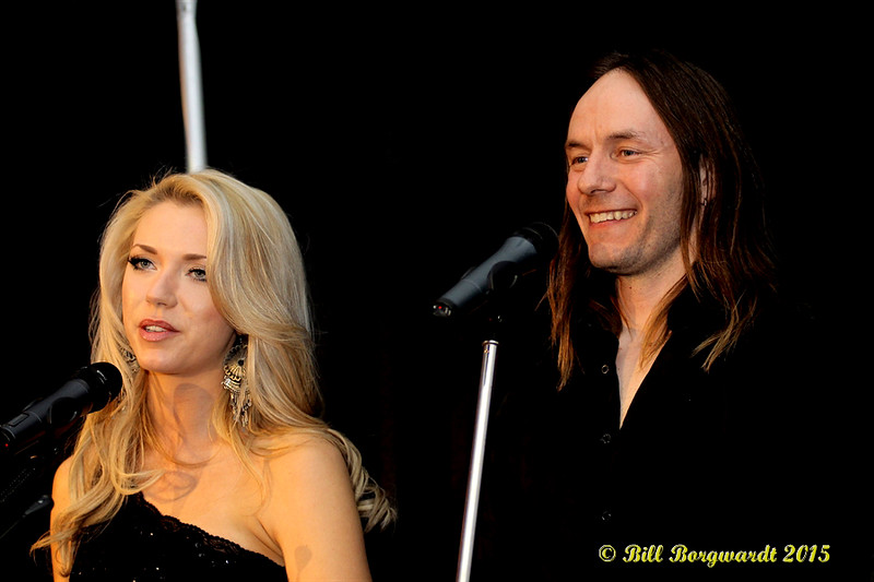 Chelsea Bird & Clayton Bellamy present Talent Buyer of the Year Award - ACMA Awards Show 2015