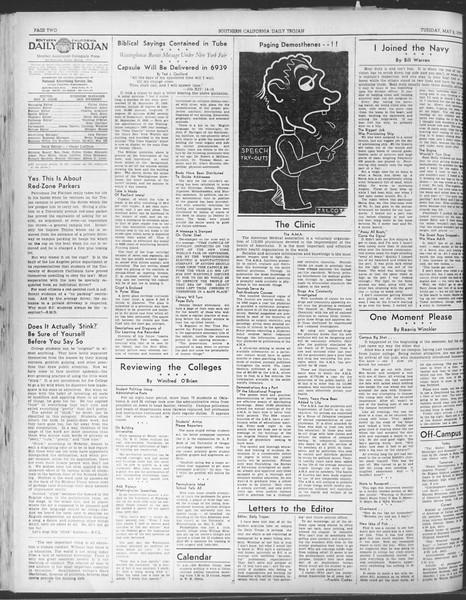 Daily Trojan, Vol. 30, No. 127, May 02, 1939