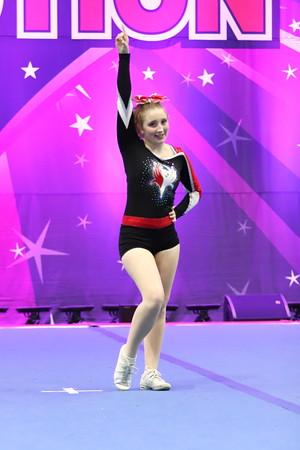 Chatham Phoenix Cheer  Jessica - Senior Indy 1