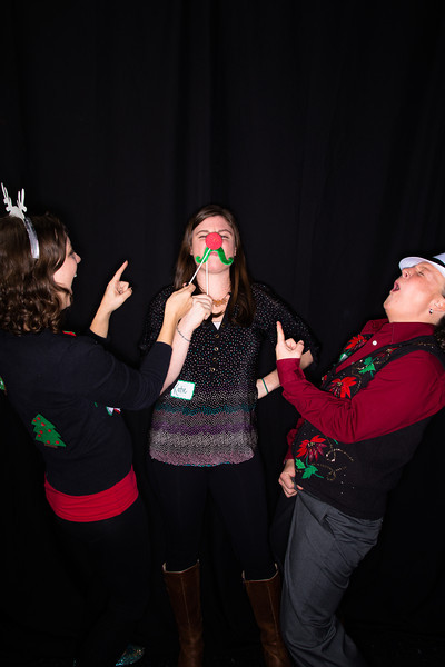 Seattle Gymnastics Academy Christmas Party Photobooth