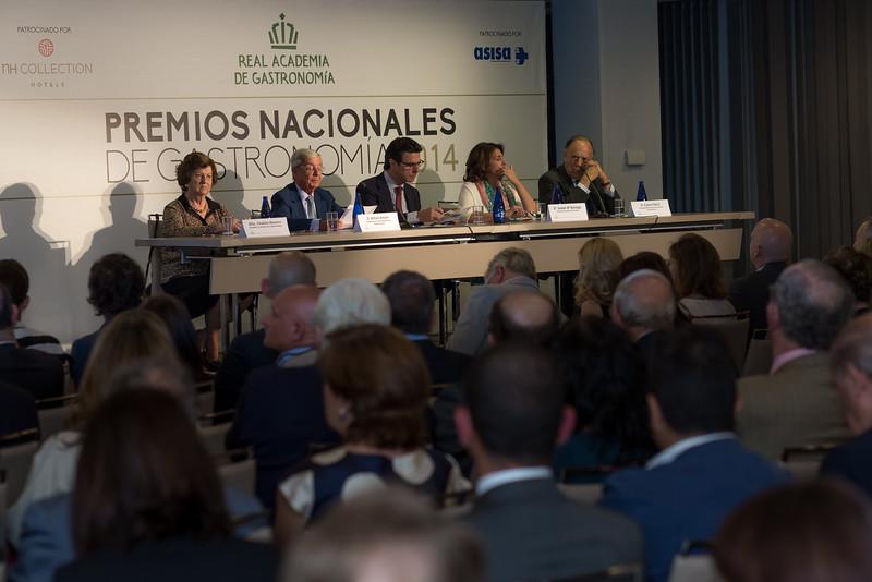 PREMIOS NACIONALES DE GASTRONOMIA 2014