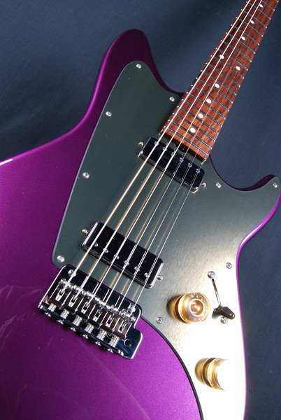 ElectraJet Custom, Plum Crazy, HH Pickups