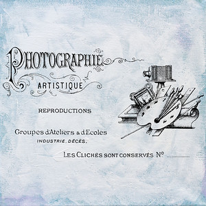 Vintage French Photography Studios