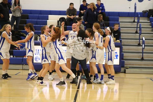 2018-19 Caldwell 8th Grade Girls Basketball