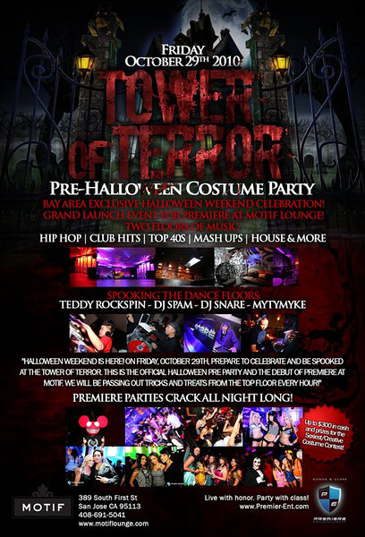 10/29 [Tower of terror@Motif]