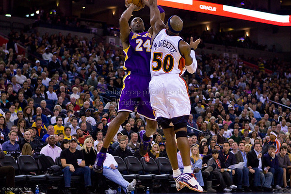 Warriors vs Lakers 11.28.09