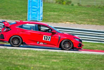 2021 SCCA Pitt Race Aug TT Warm 137 Civic