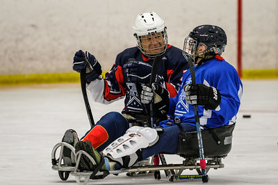 7th Annual Sled Hockey Clinic For Disabled Veterans 2017