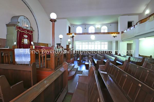 NAMIBIA, Windhoek. Windhoek Hebrew Congregation Synagogue (2.2013)