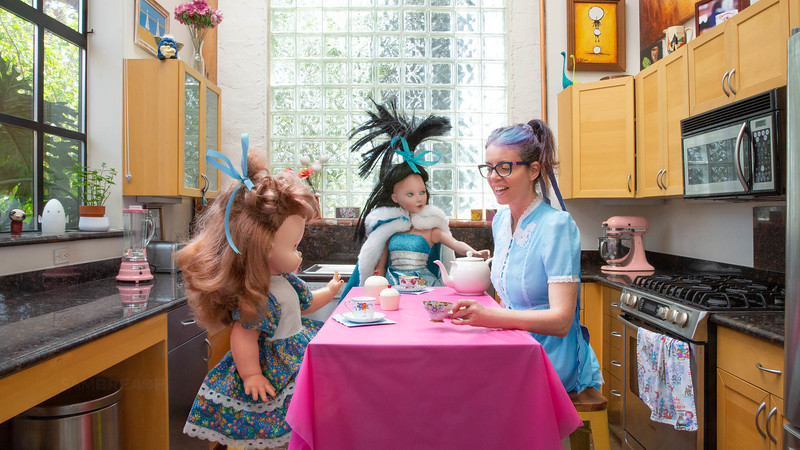 All Rights Reserved 16-9 Self Portrait 2020-Isolation tea party with my imaginary friends-photographed by Sam Breach 2020974C2277-Edit.jpg