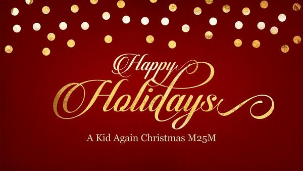 A Kid Again Christmas M25M 2015