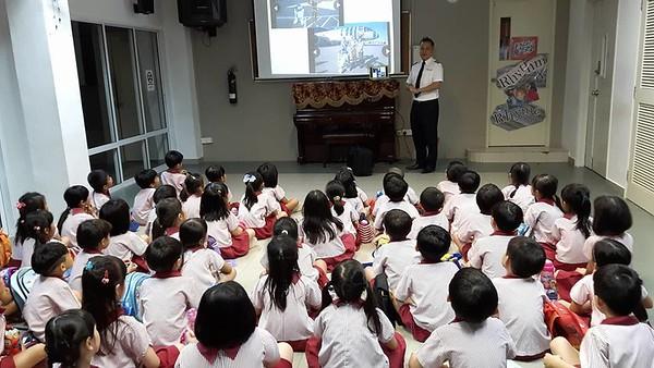 Talk by a pilot -Uncle Derek Pang