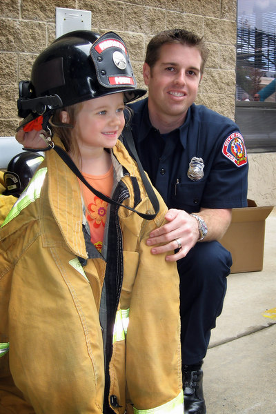 10/14 - Open day at the Poway Fire Department