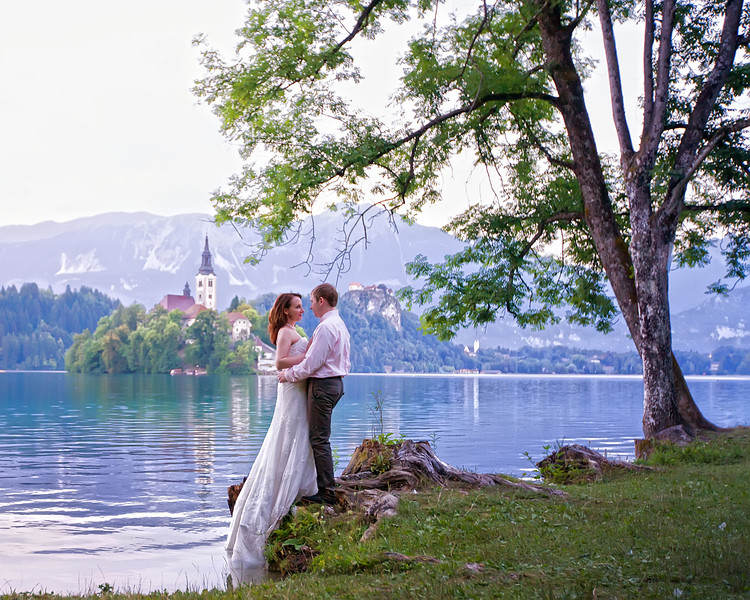 Lake Bled Wedding Photography