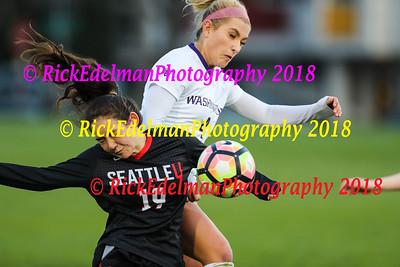 University of Washington vs Seattle University Women's Soccer
