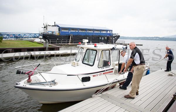 Newburgh Fire Rescue Boat