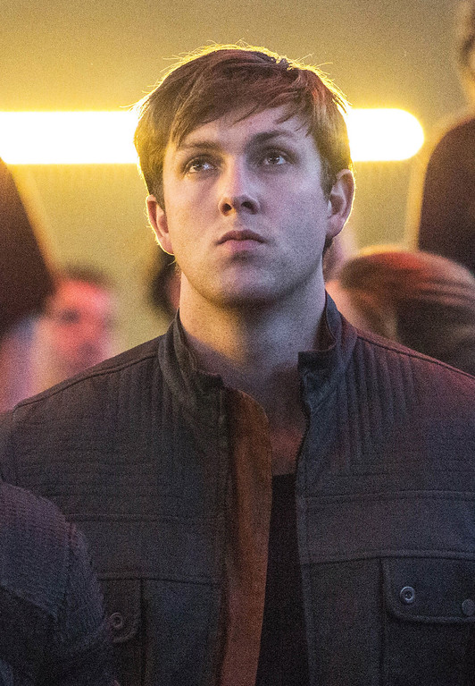 """. This image released by Summit Entertainment shows Christian Madsen in a scene from \""""Divergent.\"""" (AP Photo/Summit Entertainment, Jaap Buitendijk)"""