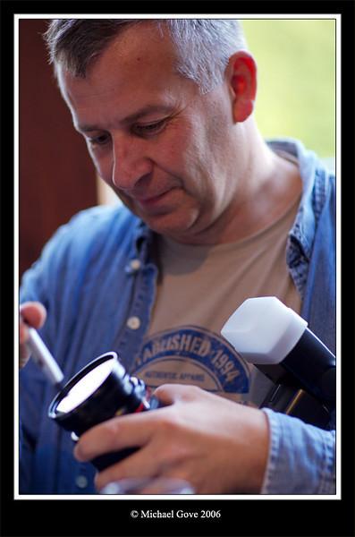 John investigating a dust bunny (68281743).jpg