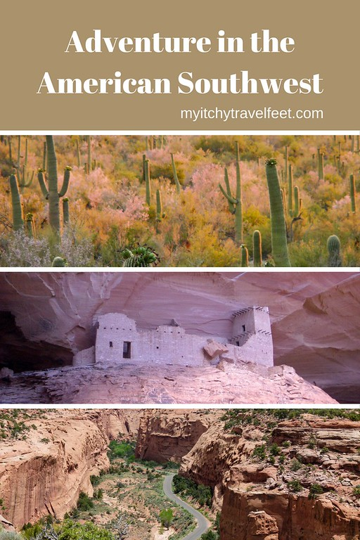 Adventure in the American Southwest includes seeing the wildflowers in Arizona, visiting the mummy's cave in Canyon de Chelly and driving through a scenic canyon on Utah's Burr Trail.