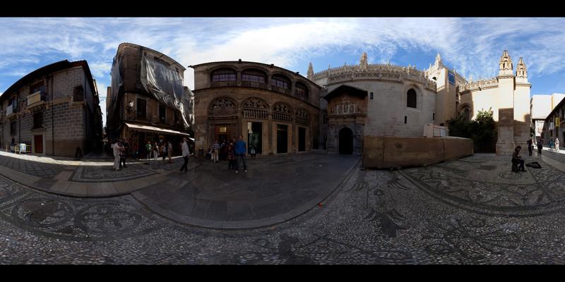 granada cathedral side square panorama.jpg
