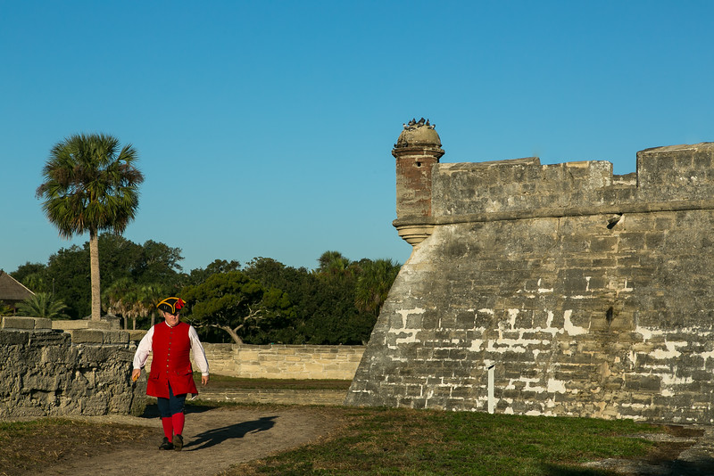 "Castillo de San Marcos ""Arriving for Duty"""