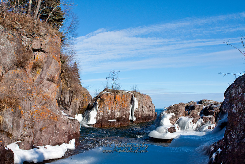 Standing on the Ice of Lake Superior-5674