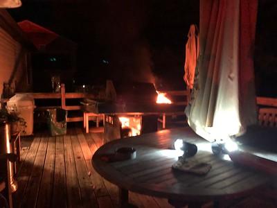 Cambridge Ct - East Brandywine - Grill Fire