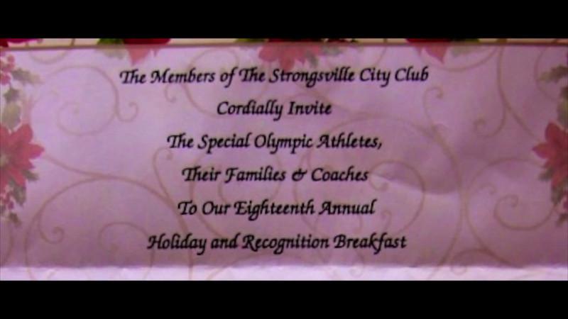 VIDEO:  Strongsville City Club SO Bkfst 1