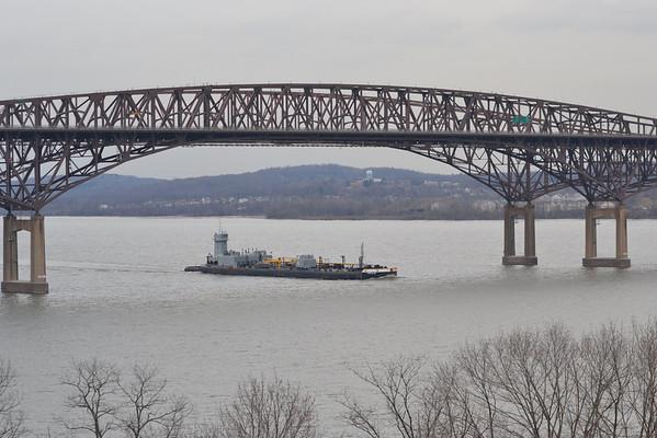 Coho /' Penn no 92 Newburgh - Beacon Bridge 14:54 !/20/13