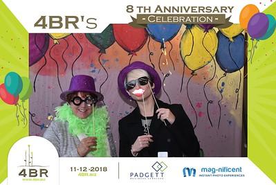 4BR 8th Anniversary-11/12/2018