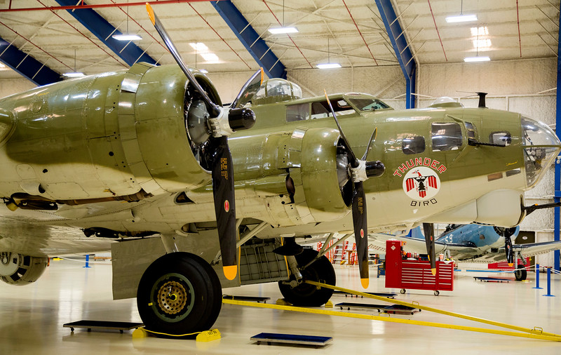 Nose of the Flying Fortress (B-17)