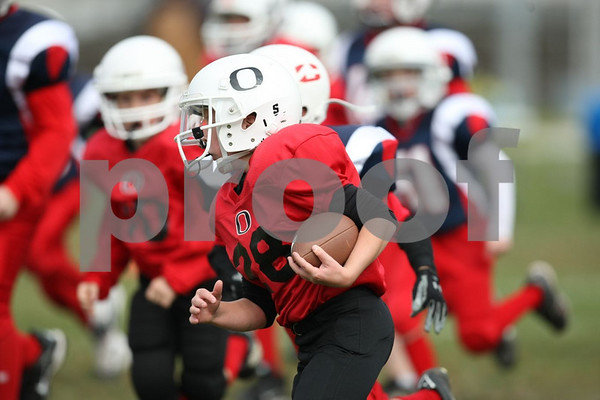 4th Grade-Odessa Bulldogs Red vs Clinton Cardinals 10-3-09