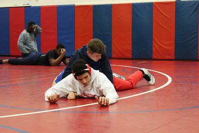 Wrestling Practice 1-11-17