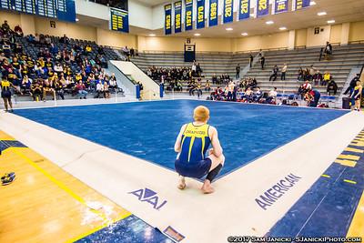 Floor - Michigan Men's Gymnastics Vs UIC 3-25-17