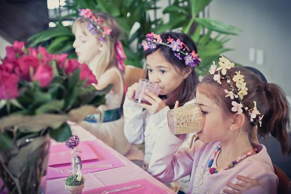 Emma and Niyah's Tea Party