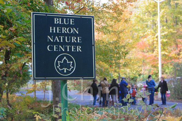 2008-10-30 : PS50 <nobr>(2nd grade class)</nobr> visits Blue Heron Park
