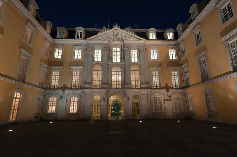 The Augustusburg Palace at night - Germany
