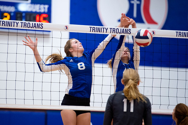 2016-09-15 TCA-Addison - Argyle LCS Varsity Volleyball