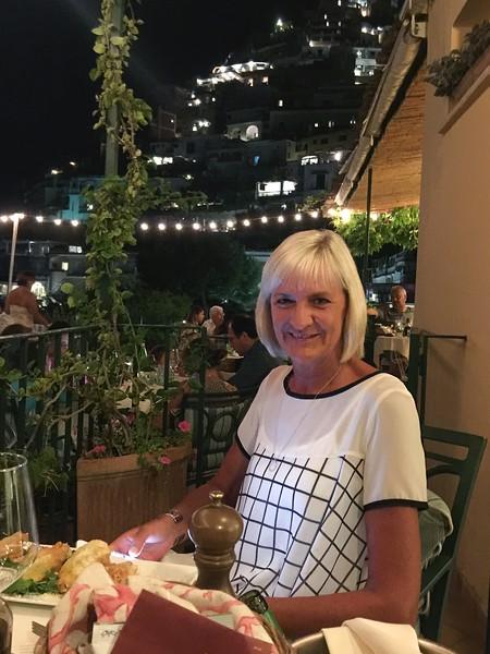 Jean at Buca di Bacco