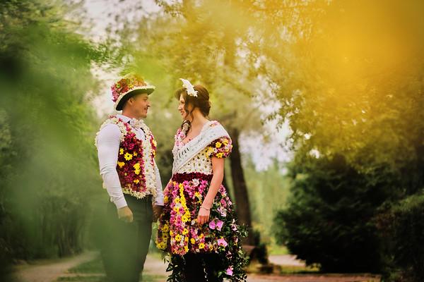 Rochie de flori