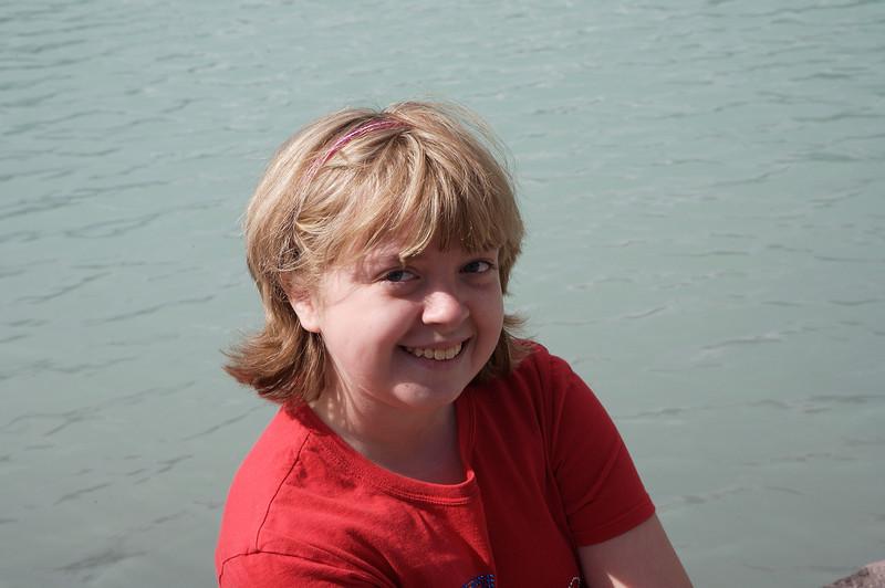 Kyra at Lake Louise