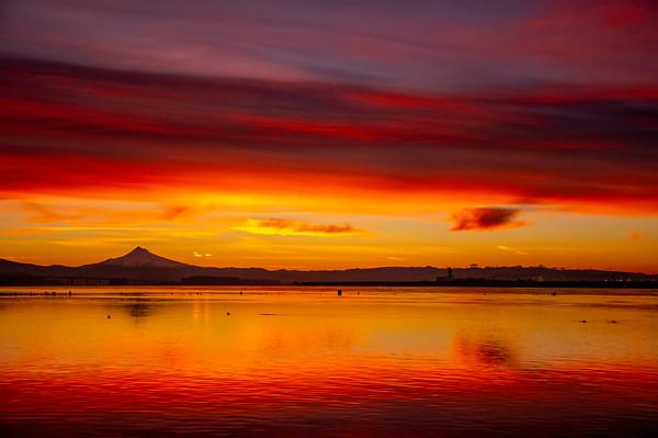 1.19.21 Columbia River  Sunrise