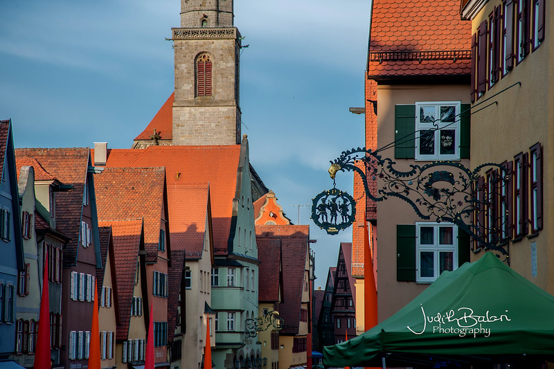 Babarían roofs, Germany