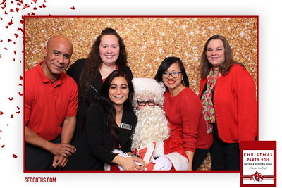 Pacifica Senior Living Christmas Party 2019 - December 19, 2019