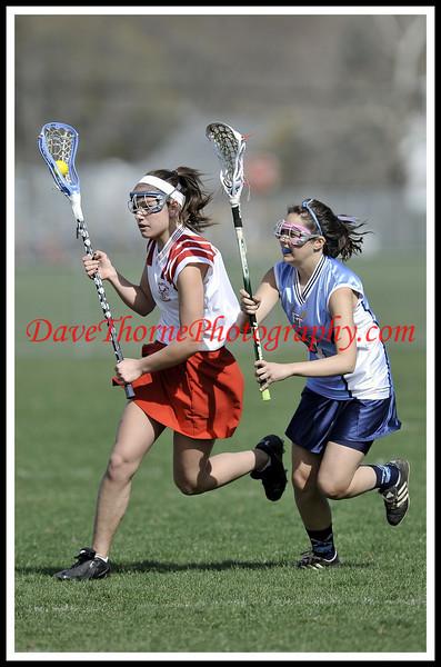 Lacrosse - Girls Freshman  Ocean vs Freehold April 201