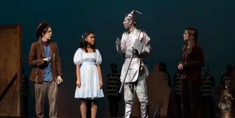 """""""Slide Some Oil To Me"""" -- """"The Wiz"""", Montgomery Blair High School spring musical, March 26, 2017"""