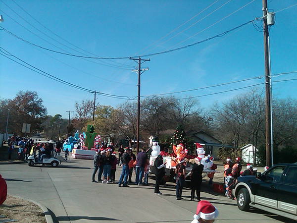 Mansfield Hometown Holidays Parade