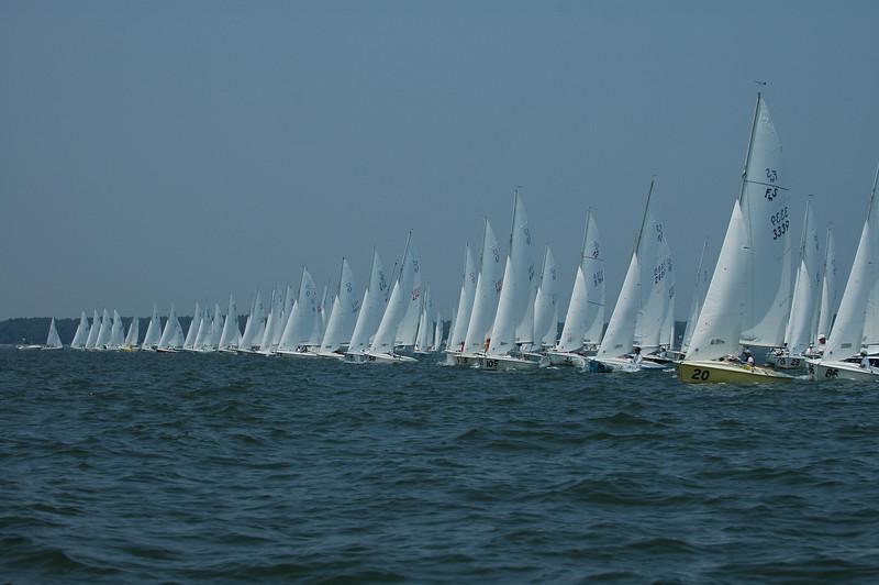 Start of Championship fleet race 6