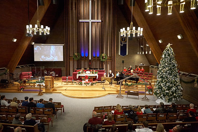 Mountain View UMC 12-24-2014 Christmas Eve 9pm Service